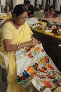 Premshila Devi, Applique Embriodery